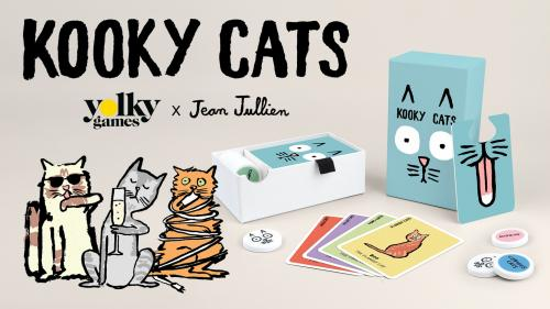 Kooky Cats – A card game illustrated by Jean Jullien 🐈
