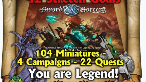 Sword & Sorcery - Epic Fantasy Co-op board & miniature game