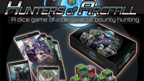 Hunters of Arcfall -  A Sci-Fi Bounty Hunting Dice Game