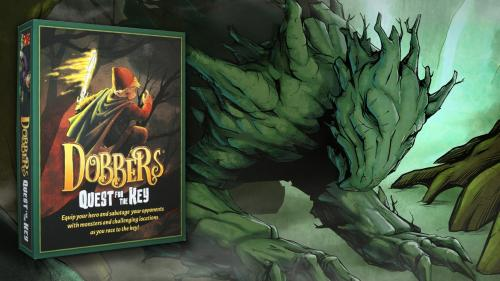 Dobbers: Quest for the Key, RPG, deck building, quest TTBG