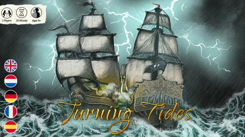 Turning Tides: A bold strategic 2-player board game