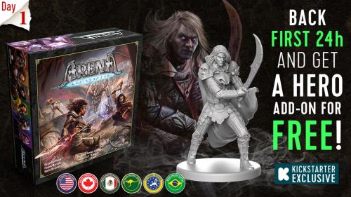 Arena: the Contest - Tabletop Miniatures Board Game