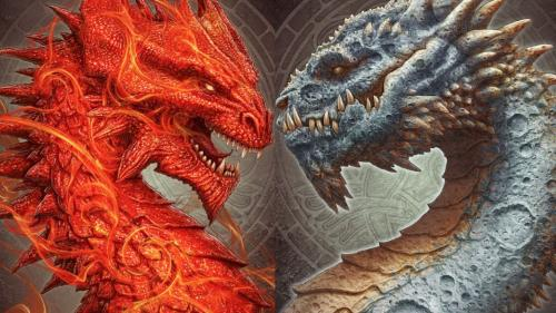 The Sun & The Moon Dragons by Kerem Beyit