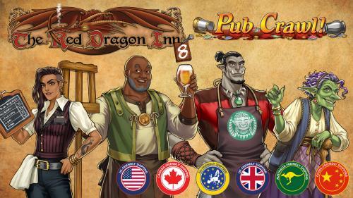The Red Dragon Inn 8 - Pub Crawl!
