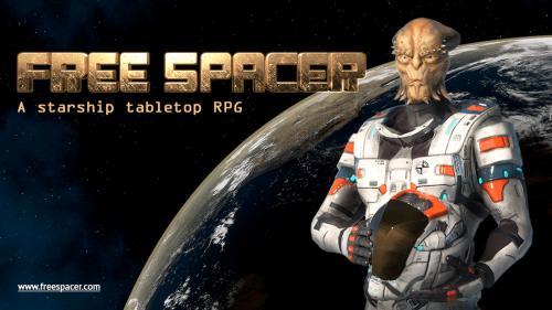 Free Spacer // a sandbox starship tabletop RPG