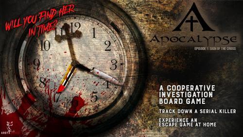 """""""Apocalypse"""": escape box"""