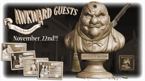 Awkward Guests - Mystery and deduction boardgame