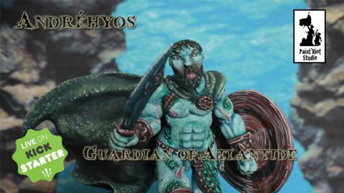 Andréhyos, Guardian of Atlantide