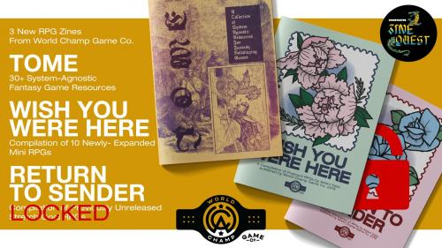 Tome & Wish You Were Here RPG Zines