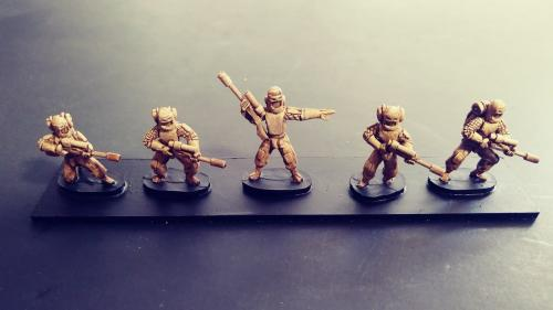 The I.E.A Wars 15mm Sci Fi Tabletop Wargame Miniatures