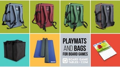 Playmats and Bags for Board Games