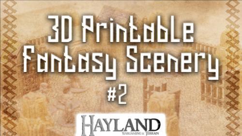 3D Printable 28mm Fantasy Scenery #2 - STL Files
