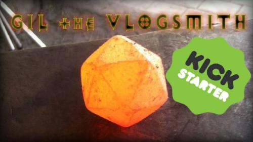 The Vlogsmith - Hand Forged Dice!