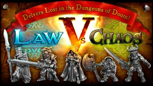 Dungeons of Doom V: Law Vs Chaos + Star Hat Miniatures