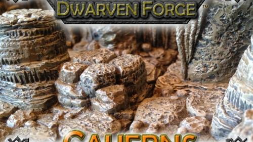 Dwarven Forge s Caverns-Dwarvenite Game Tiles Terrain