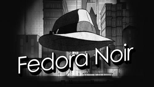 Fedora Noir