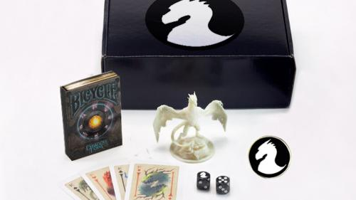 Dragon Crate: Bicycle Playing Cards and Miniature