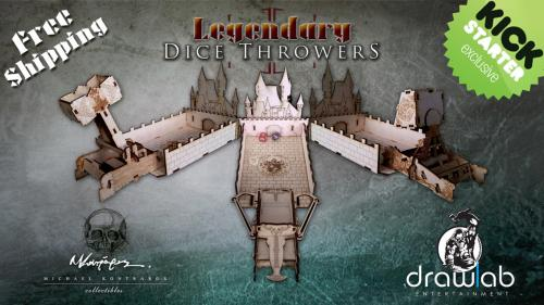 Legendary Dice Throwers- the evolution of dice towers
