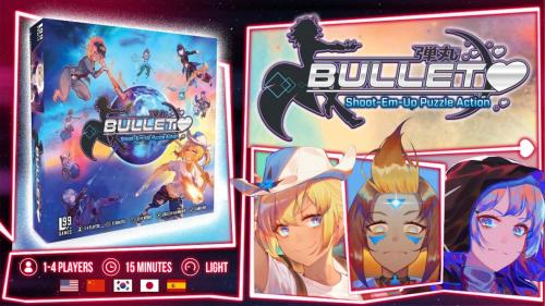 Bullet♥︎ — Shoot-em-up Puzzle Action Board Game