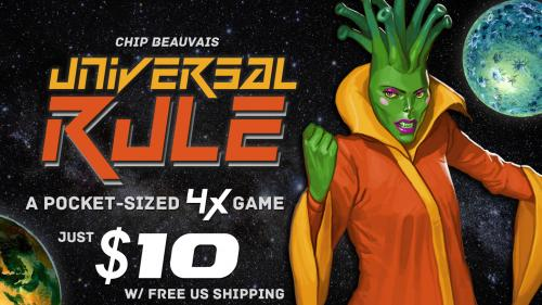 Universal Rule - A 4X game that fits in your pocket.