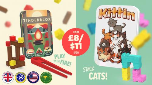 "Tinderblox & Kittin - ""Play with fire"" & Stack cats!"