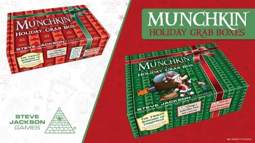 Munchkin Holiday Grab Boxes