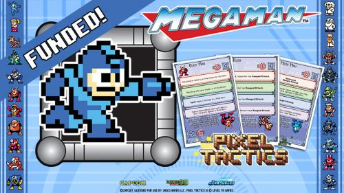 Mega Man Pixel Tactics!