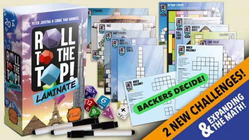 *ROLL TO THE TOP* reprint & challenges & expanding the math!