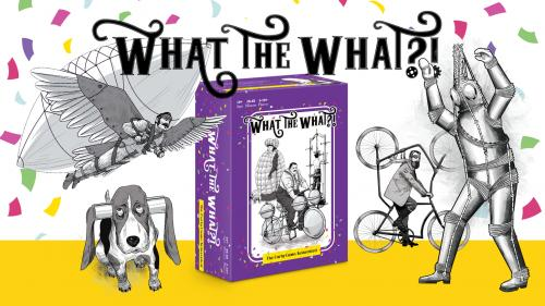 What the What?! The party game; Reinvented