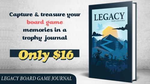 Legacy Board Game Journal