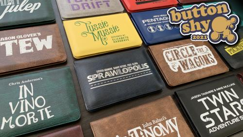 Button Shy Wallet Games - Reprint Campaign 2021