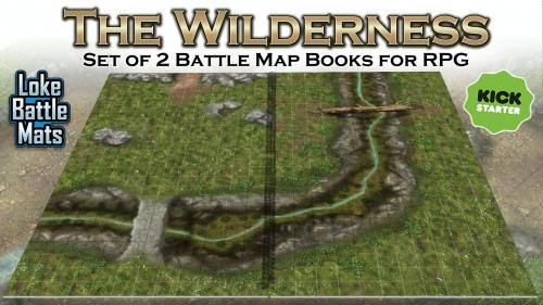 The Wilderness Books of Modular Maps for Tabletop Roleplay.