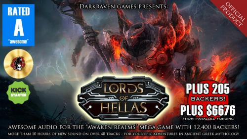 """Lords of Hellas"" Audio: Official Product by Darkraven Games"