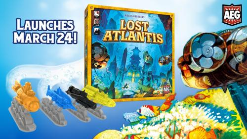 Lost Atlantis, A Game of Underwater Exploration from AEG