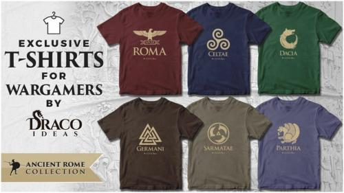 Ancient Rome T-shirts for wargamers