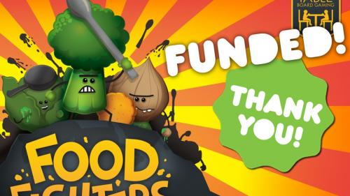 Foodfighters — a battle game with all the right ingredients.