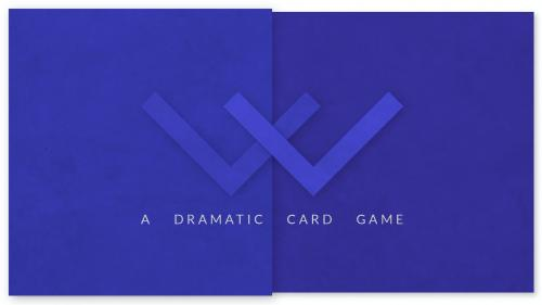Victory Line — a dramatic player-connecting card game