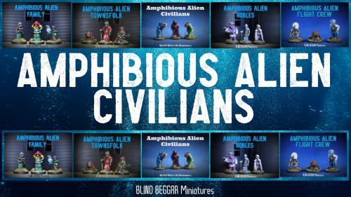 Amphibious Alien Civilians