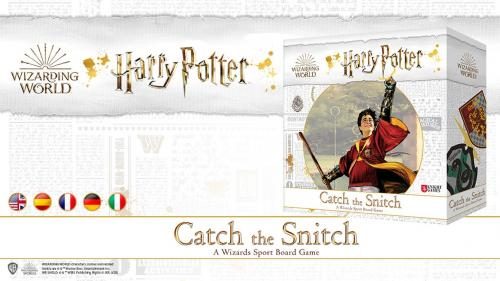 Harry Potter: Catch the Snitch - A Wizards Sport Board Game