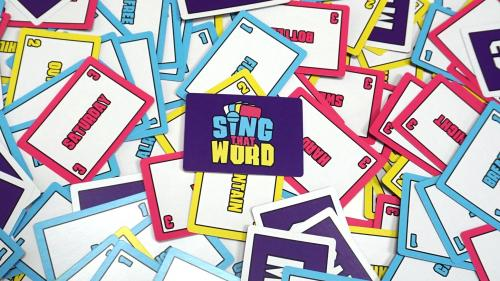 SING THAT WORD- A new card game for music lovers!