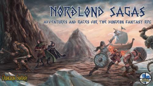 Nordlond Sagas for the Dungeon Fantasy RPG