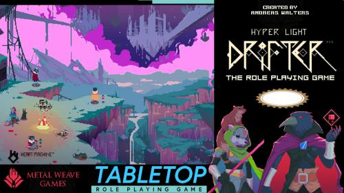 Hyper Light Drifter: Tabletop Role-Playing Game