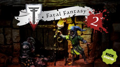 Fatal Fantasy 2 - More casualty bases for wargaming
