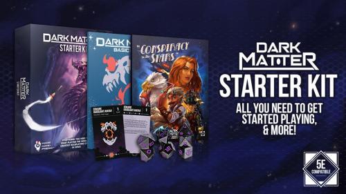 Dark Matter Starter Set: Science Fiction for DnD 5E
