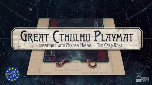 Cthulhu Playmat - compatible with Arkham Horror LCG