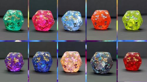 SkullSplitter Dice 2020 Celebration Collection