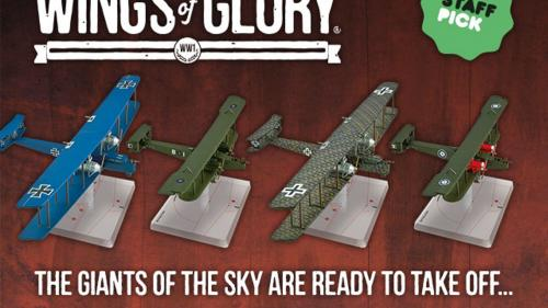 Wings of Glory Miniature Game - Giants of the Sky