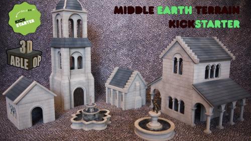 Middle Earth 3D Printable Terrain