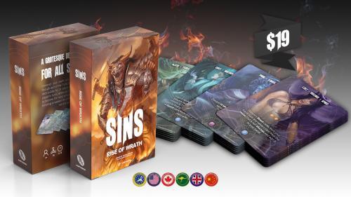 SINS, a grotesque deck-builder