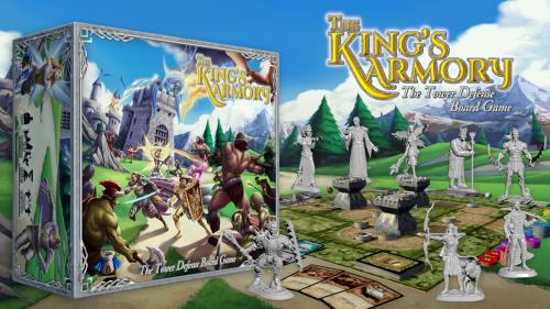 The King s Armory - The Tower Defense Board Game